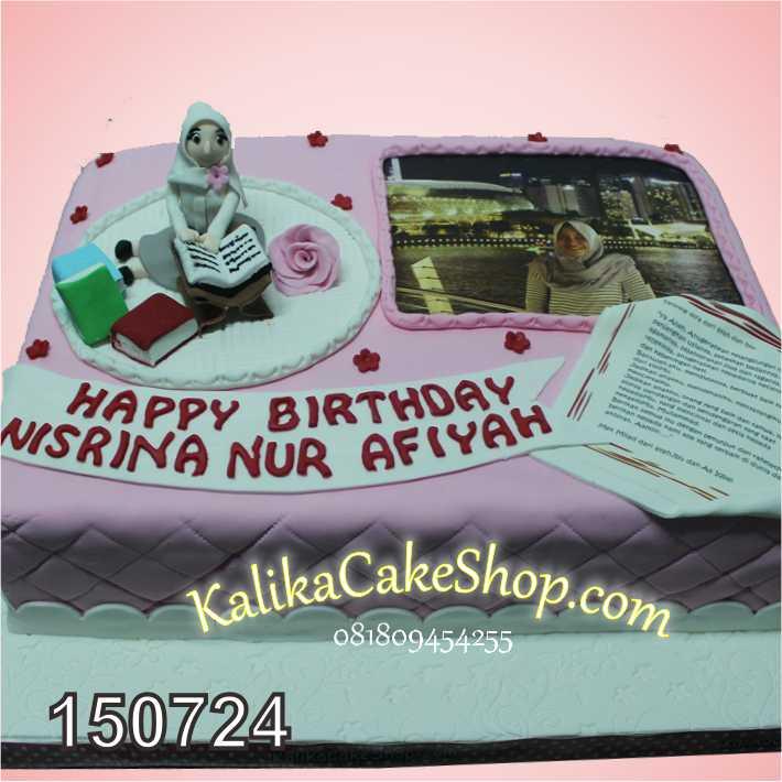 Kue Ulang Tahun Nirina
