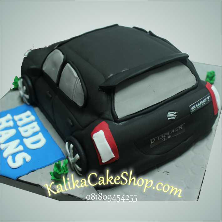 Kue Ulang Tahun Suzuki Swiff 2