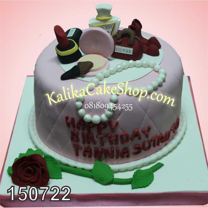 Kue Ulang tahun fashion tania
