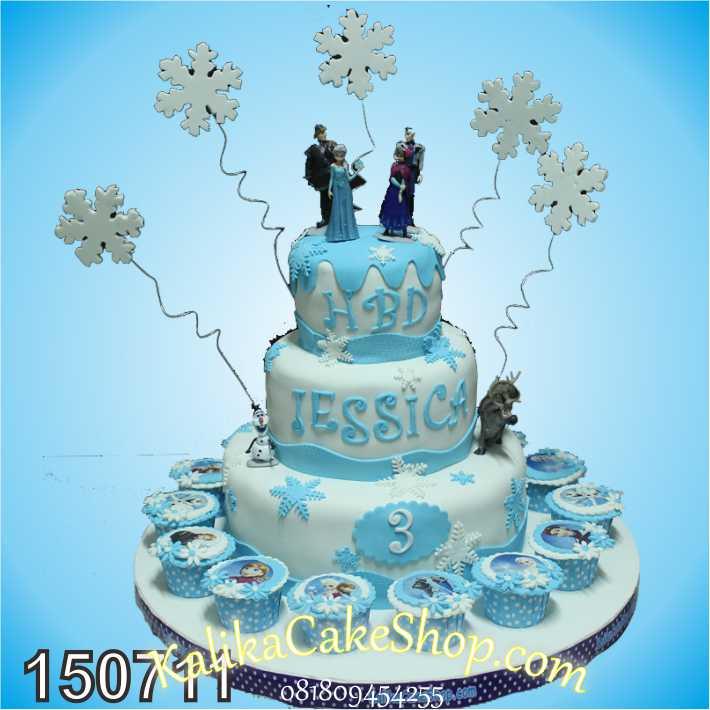 Kue Ulang Tahun Frozen Jessica Kue Ulang Tahun Bandung