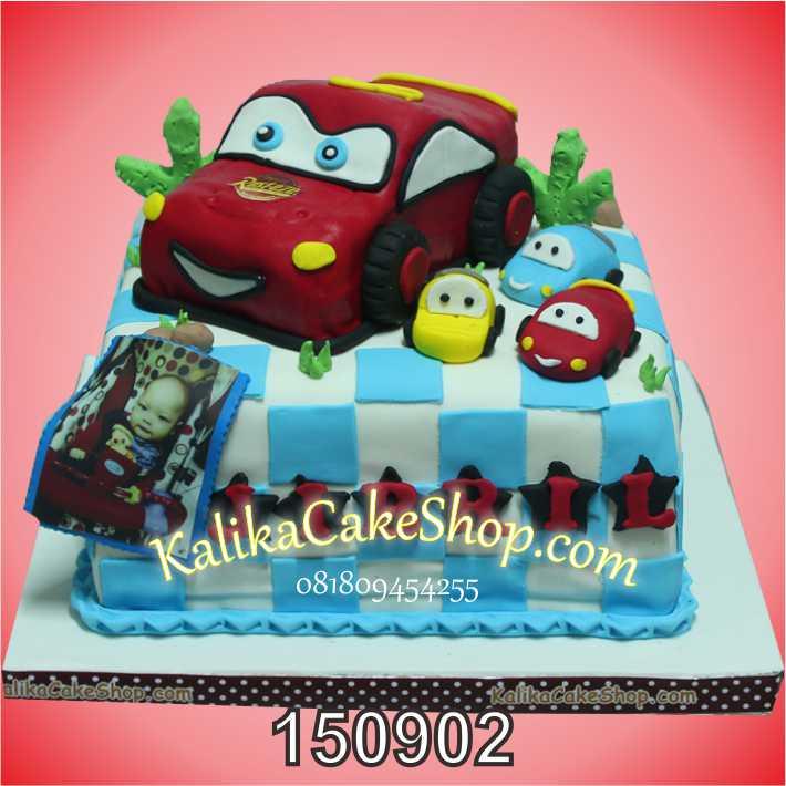 Kue Ulang Tahun Cars Jibril