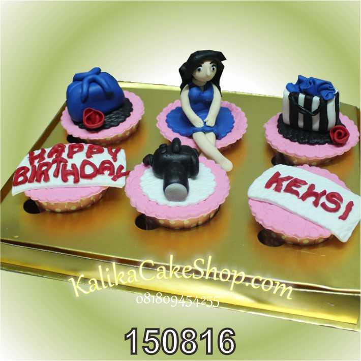 Kue Ulang Tahun Cup Cake Kehsi