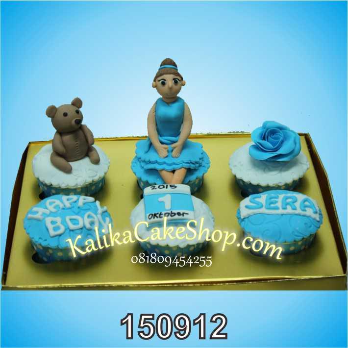 Kue Ulang Tahun Cup Cake Sera