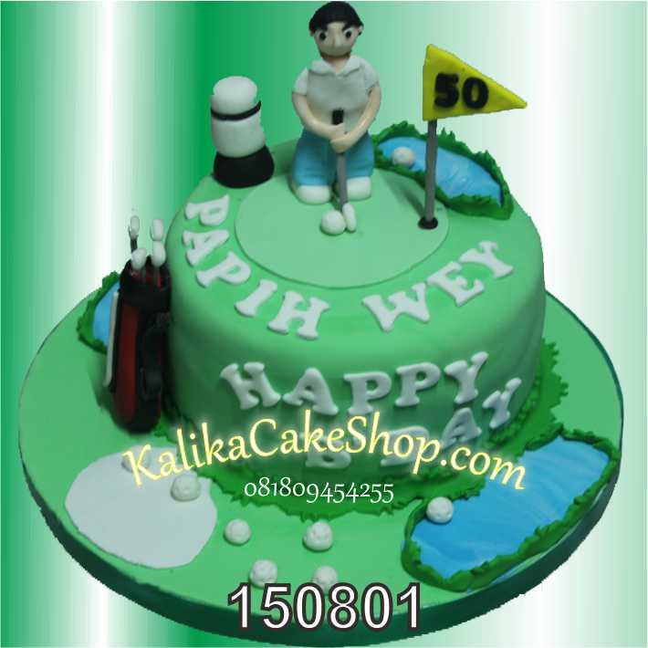 Kue Ulang Tahun Golf Papih Wey
