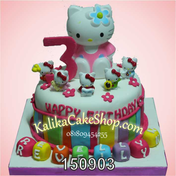 Kue Ulang Tahun Hello Kitty Revellyn