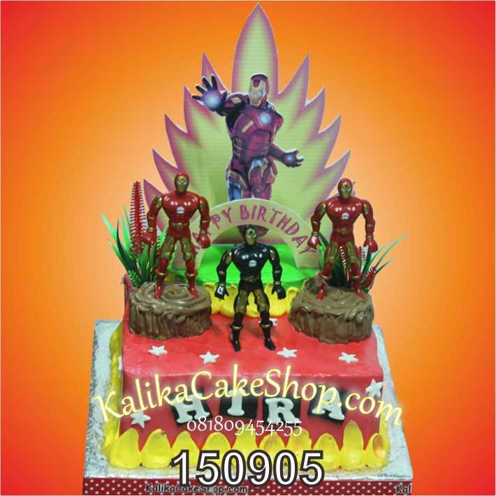 Kue Ulang Tahun Iron Man Hira