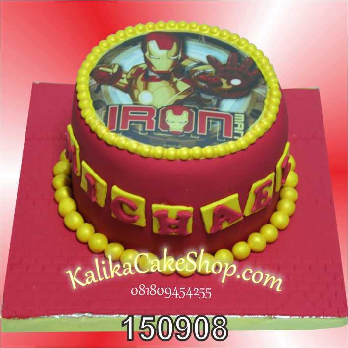 Kue Ulang Tahun Iron Man Michael
