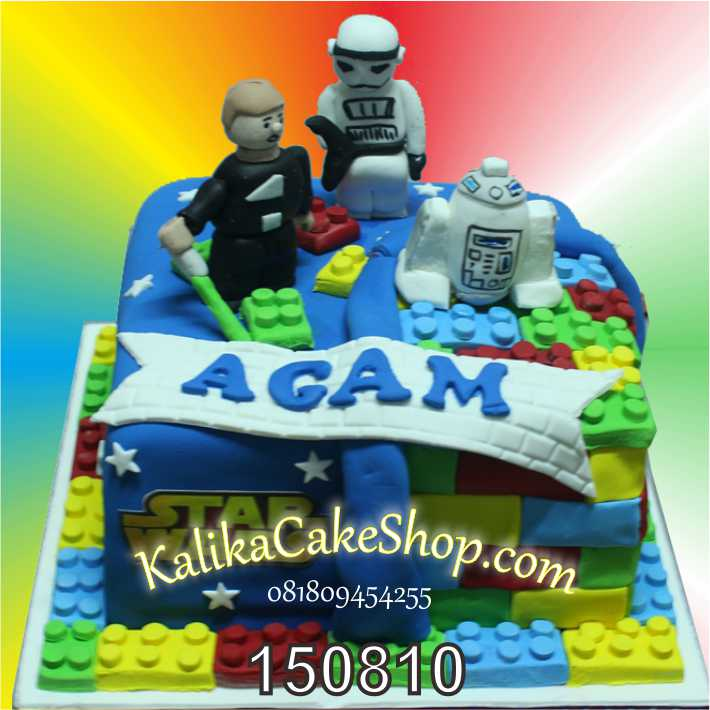 Kue Ulang Tahun Lego Starwars Agam