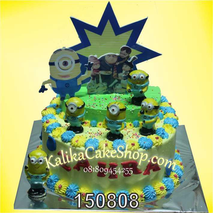 Kue Ulang Tahun Minion Zahra