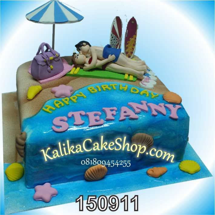 Kue Ulang Tahun Pantai Stefanny