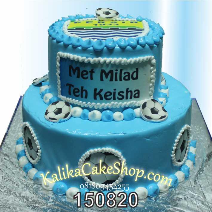 Kue Ulang Tahun Persib Keisha