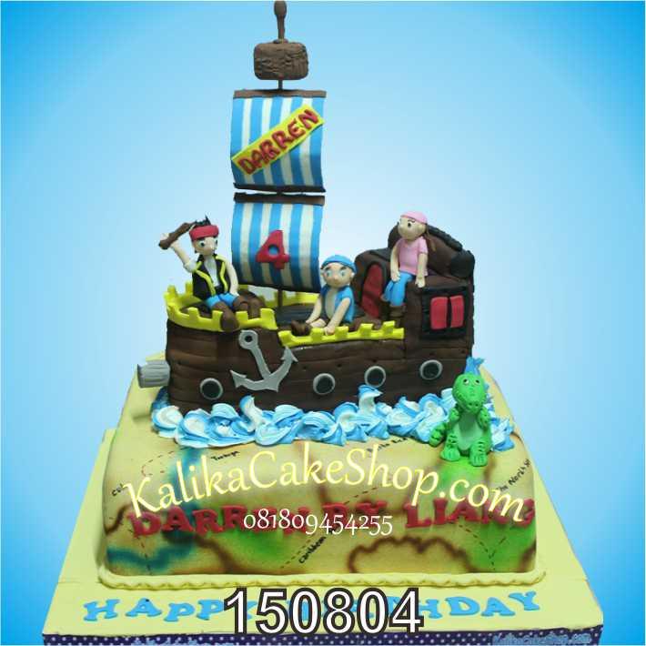 Kue Ulang Tahun Pirate Darren