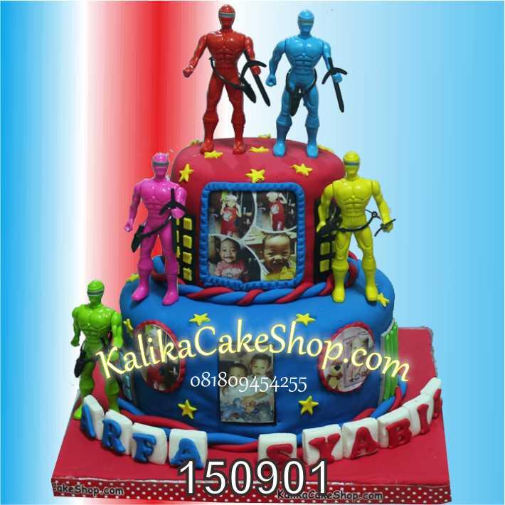 Kue Ulang Tahun Power Rangers Arfa