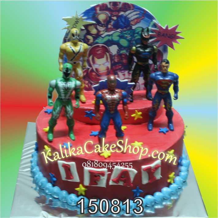 Kue Ulang Tahun Super Hero Ifay
