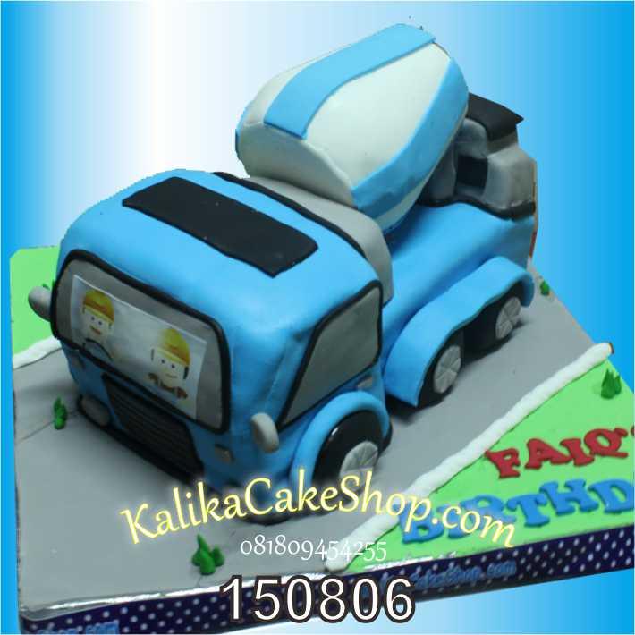 Kue Ulang Tahun Truk Molen