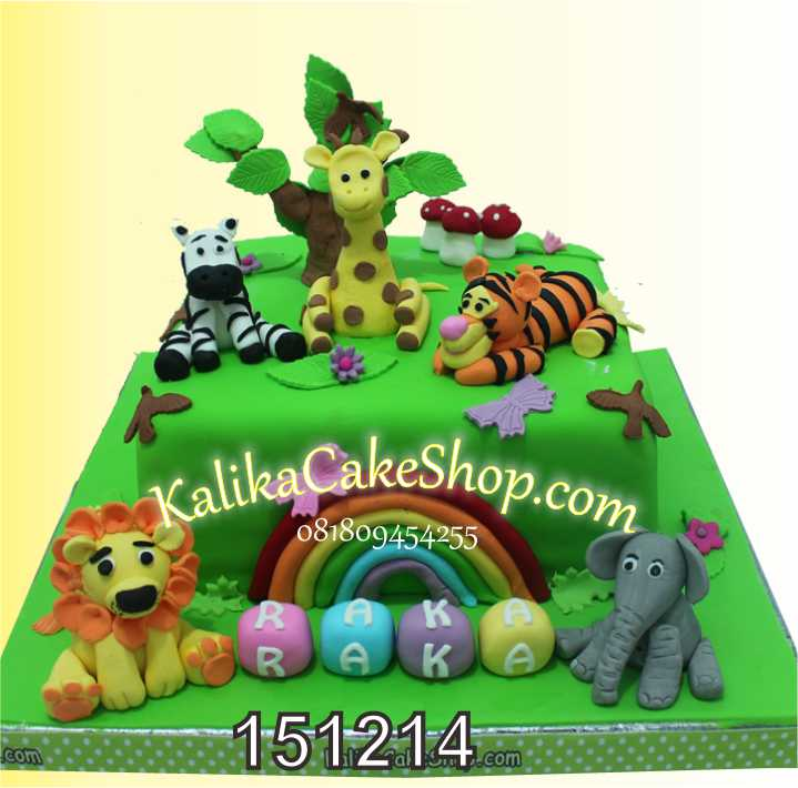 Animal Cake Raka