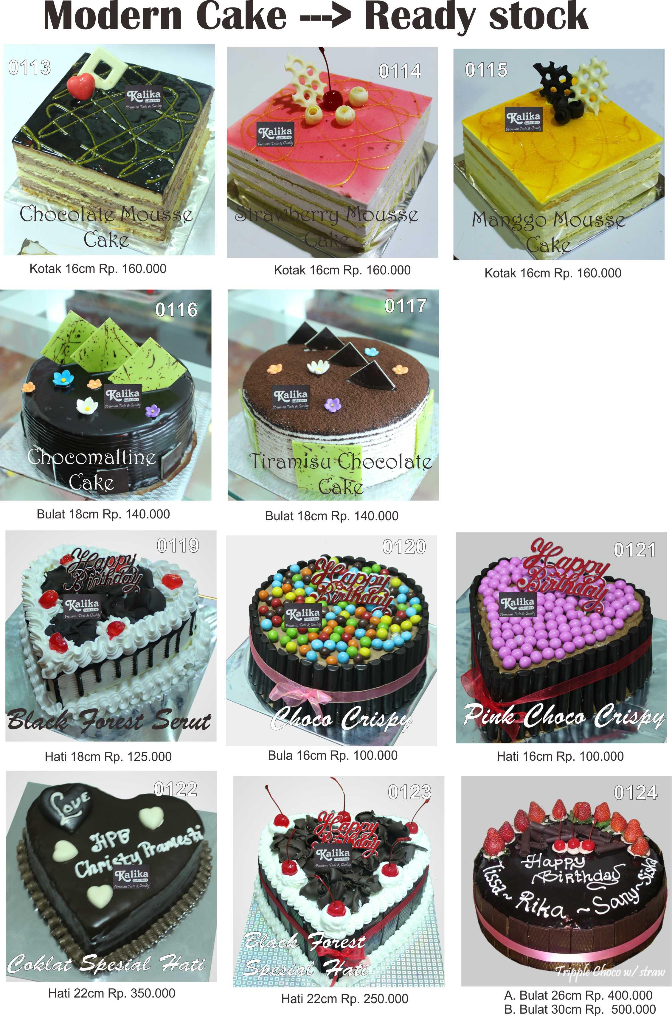 Catalog Modern Cake 2