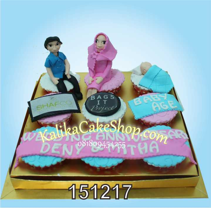 Cup Cake Set 9 pcs