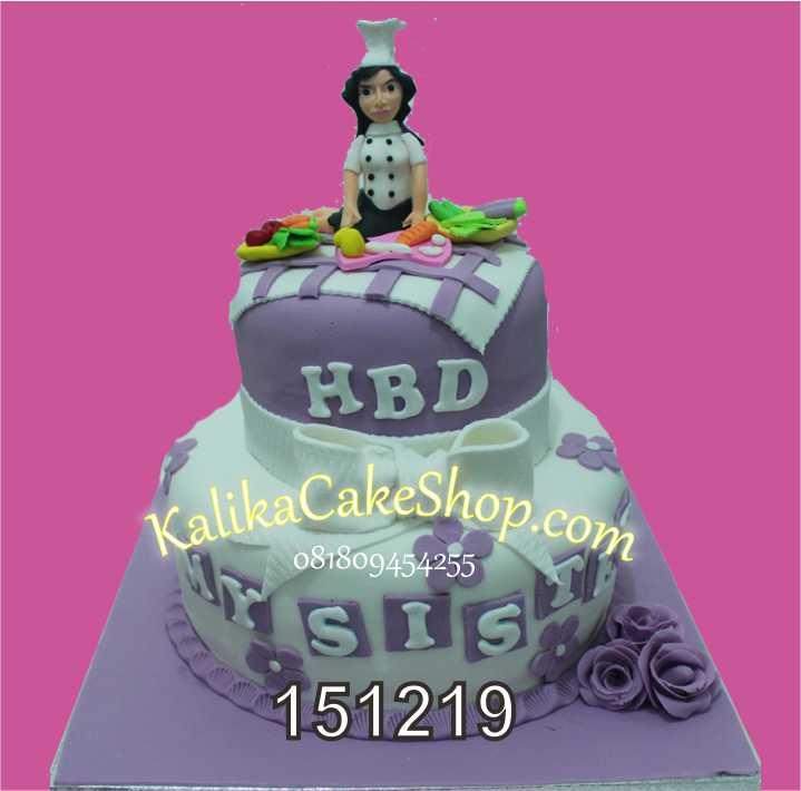 Custom Chef Cake