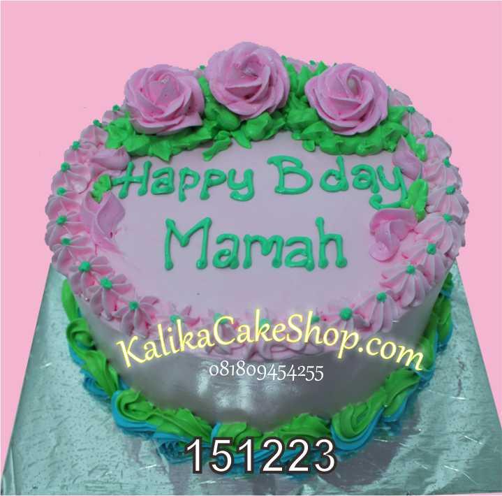 Flower Cake mamah