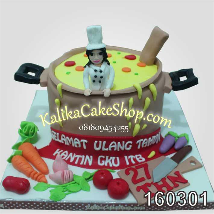 Cheff Birthday Cake ITB