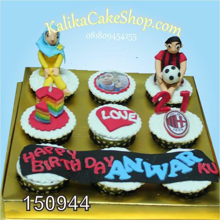 Cup Cake Custom AC milan set9