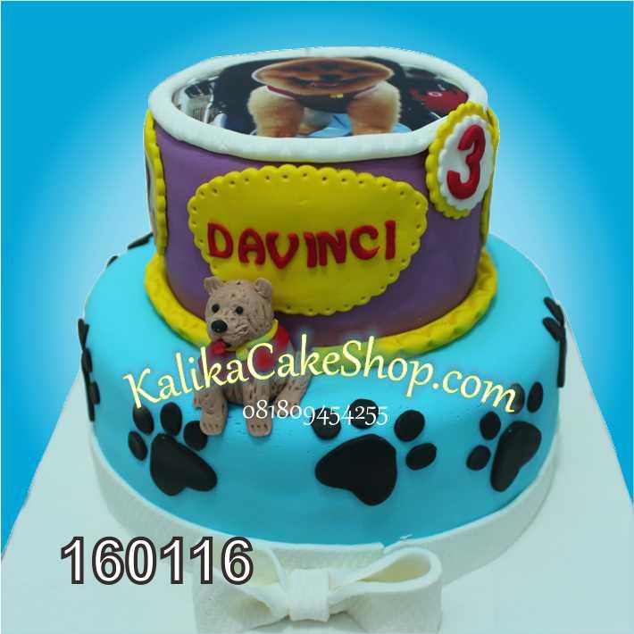 Davinci Dog Cake