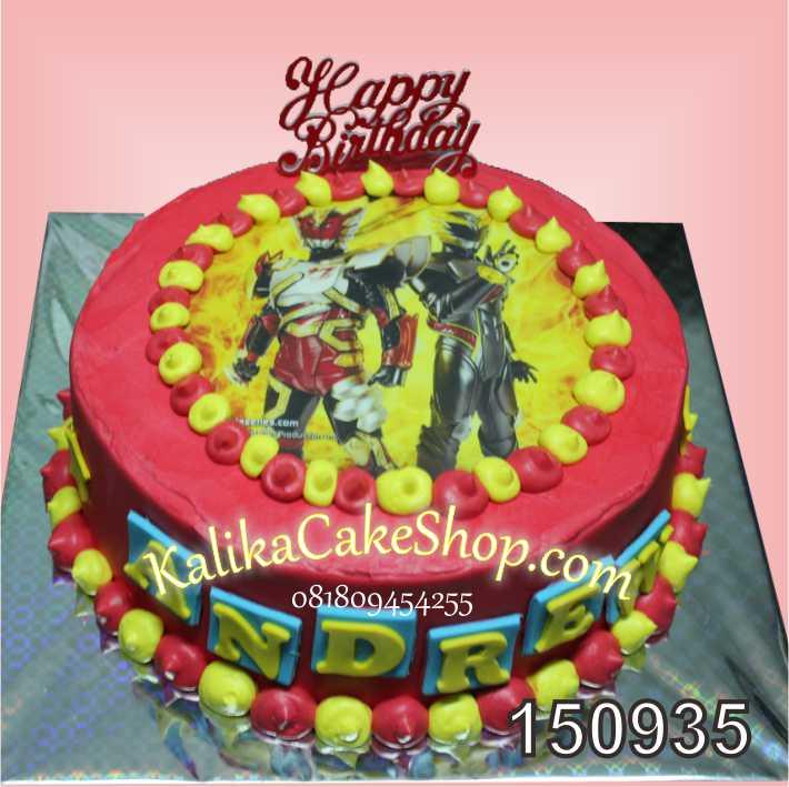 Kue Ulang Tahun Bima X Andrew