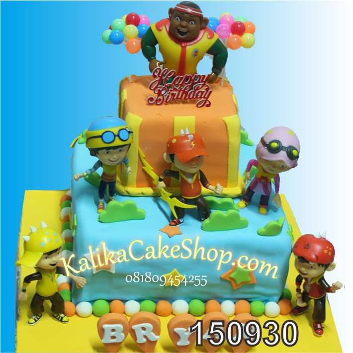 Kue Ulang Tahun Boboiboy Bryan