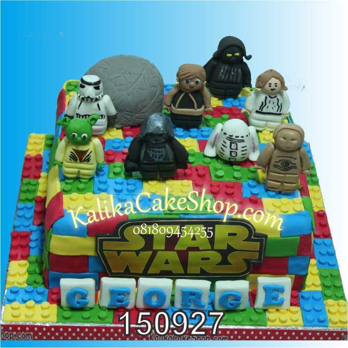 Kue Ulang Tahun Lego Starwars