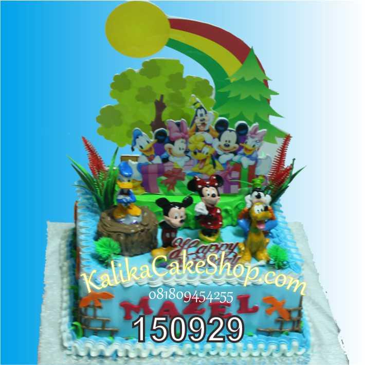Kue Ulang Tahun Mickey Mazel