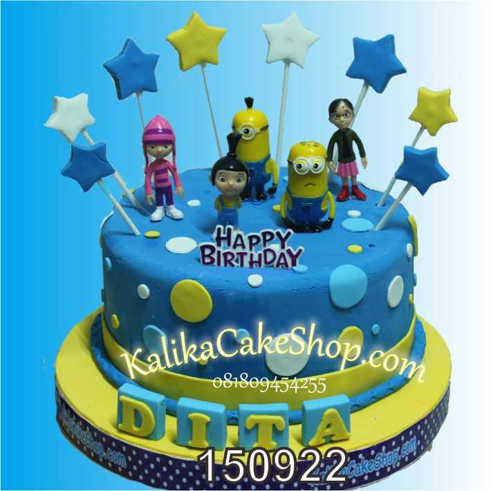 Kue Ulang Tahun Minion Dita