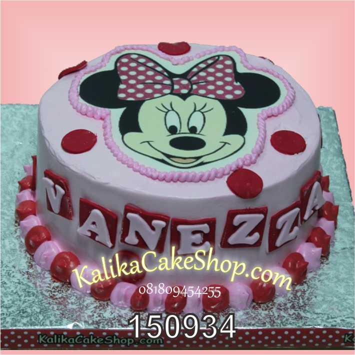 Kue Ulang Tahun Minnie Vanezza
