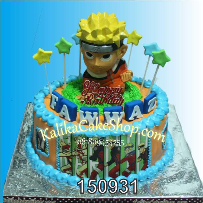 Kue Ulang Tahun Naruto Fawwaz