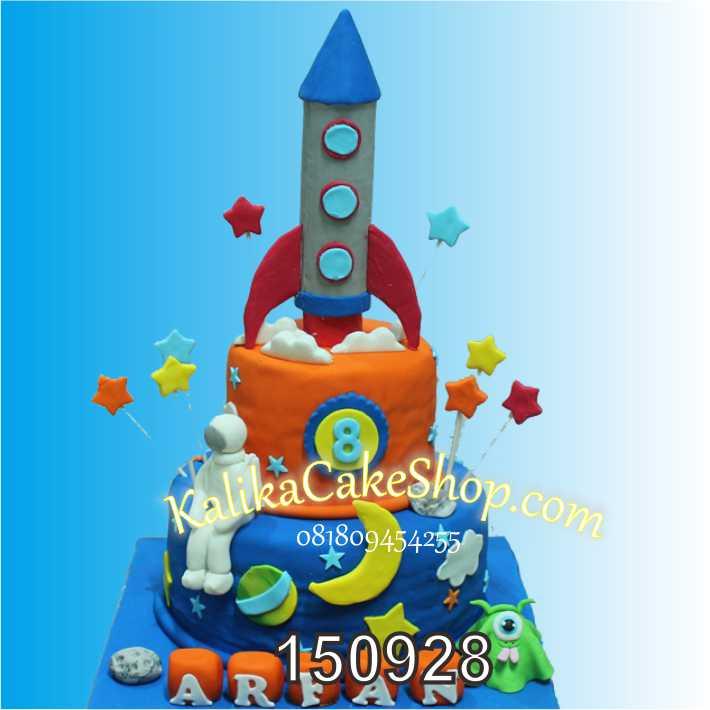 Kue Ulang Tahun Roket Arfan