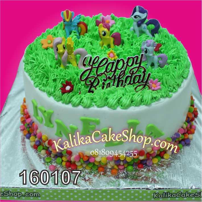 Kue Ulang tahun Little Pony
