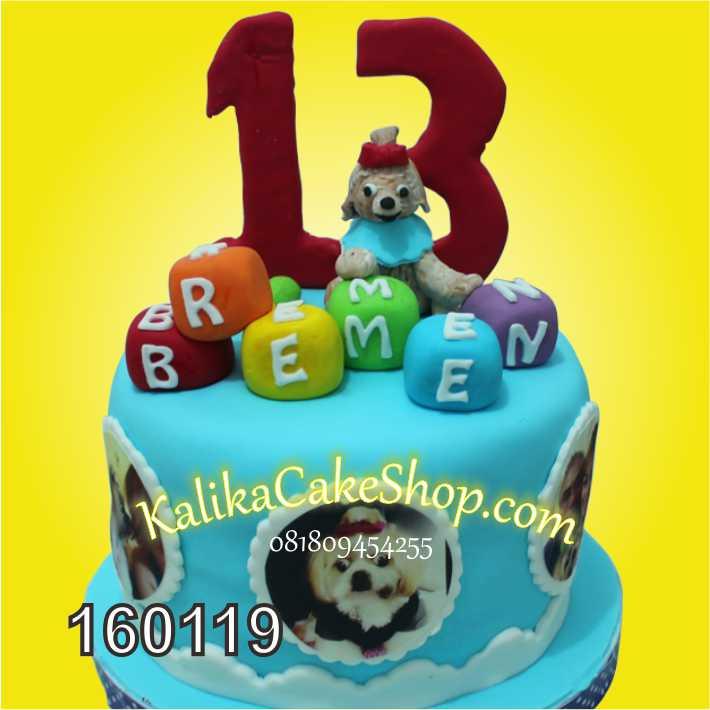 Kue Ulang tahun dog