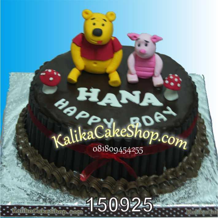 Winnie The Pooh Bday Cake Hana