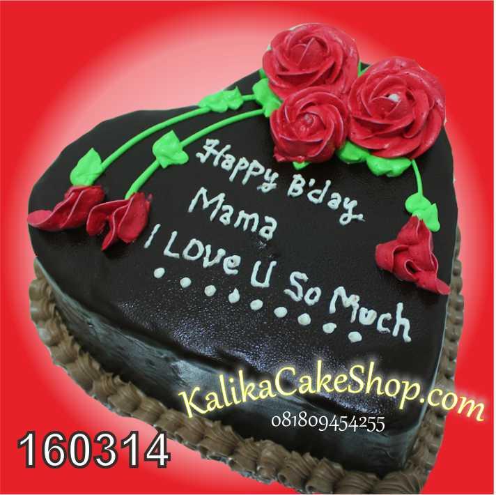 cake flower coklat special