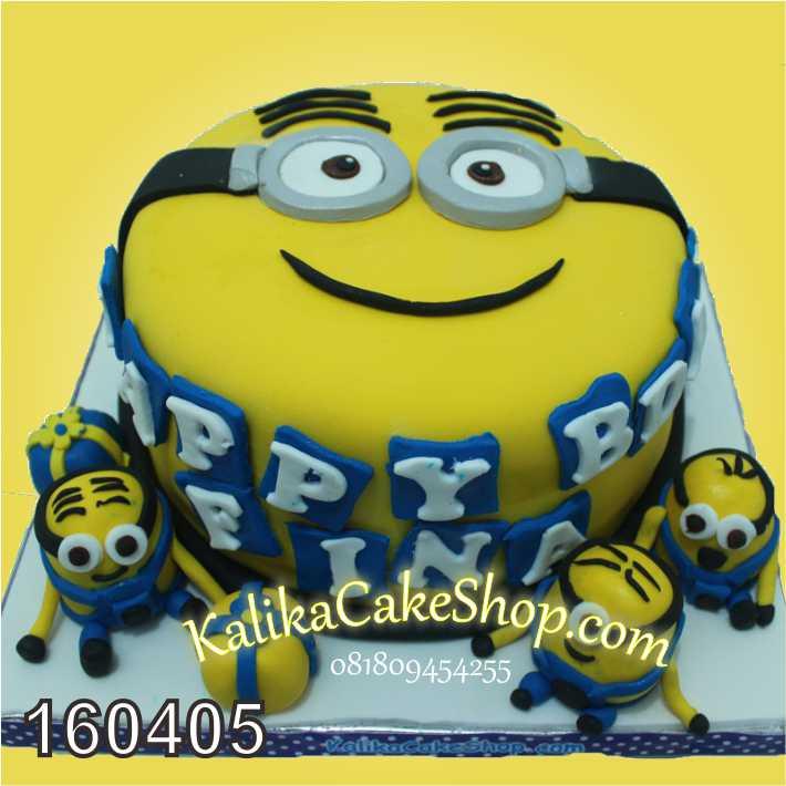 cake minion fina
