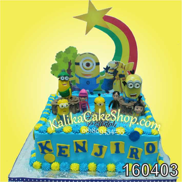 cake minion kenjiro
