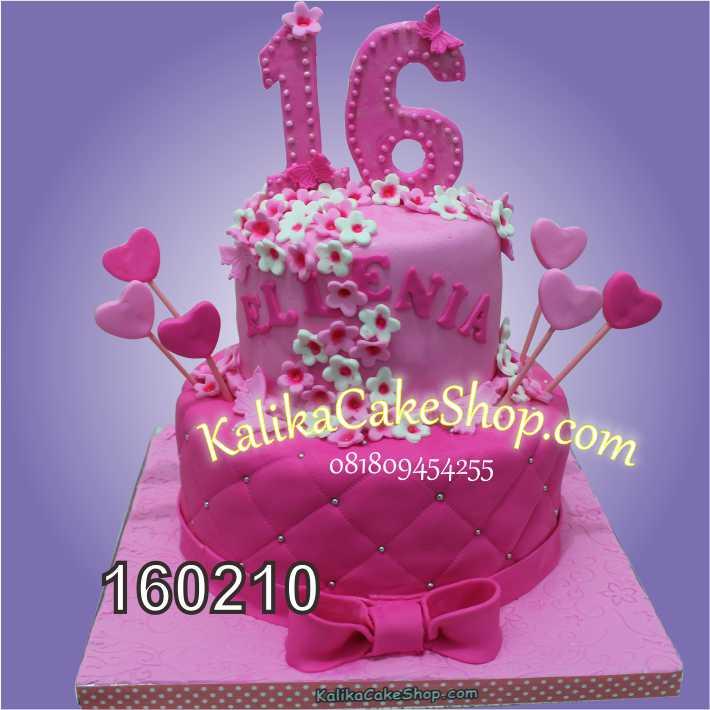 cake custom pink