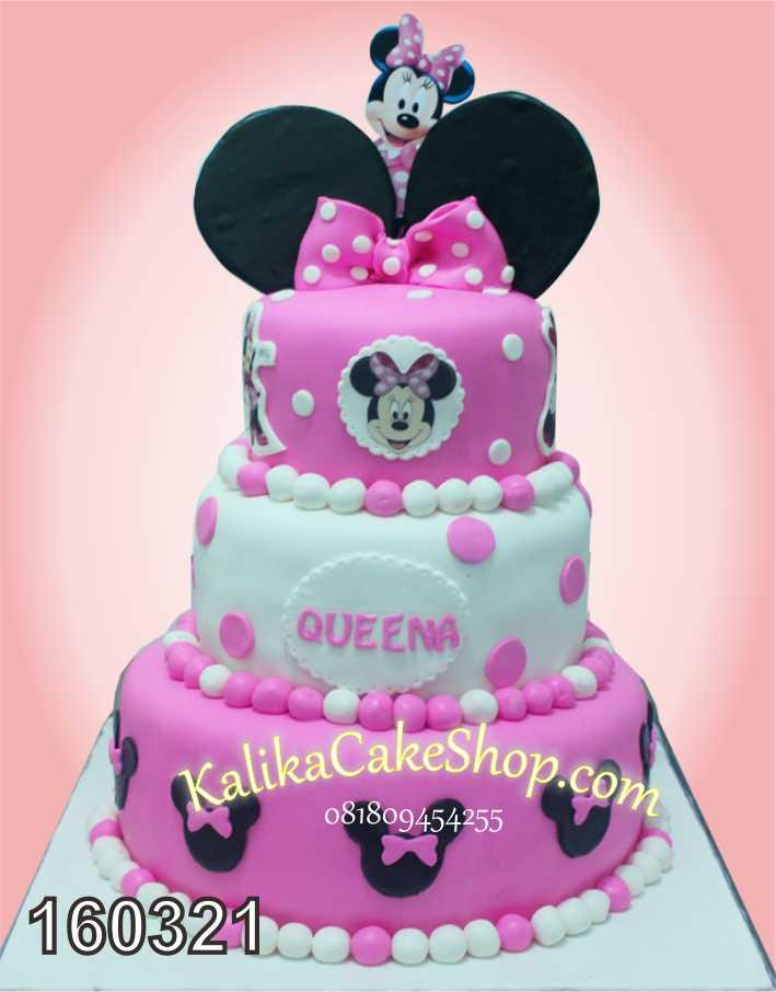 mini mouse queena birthday