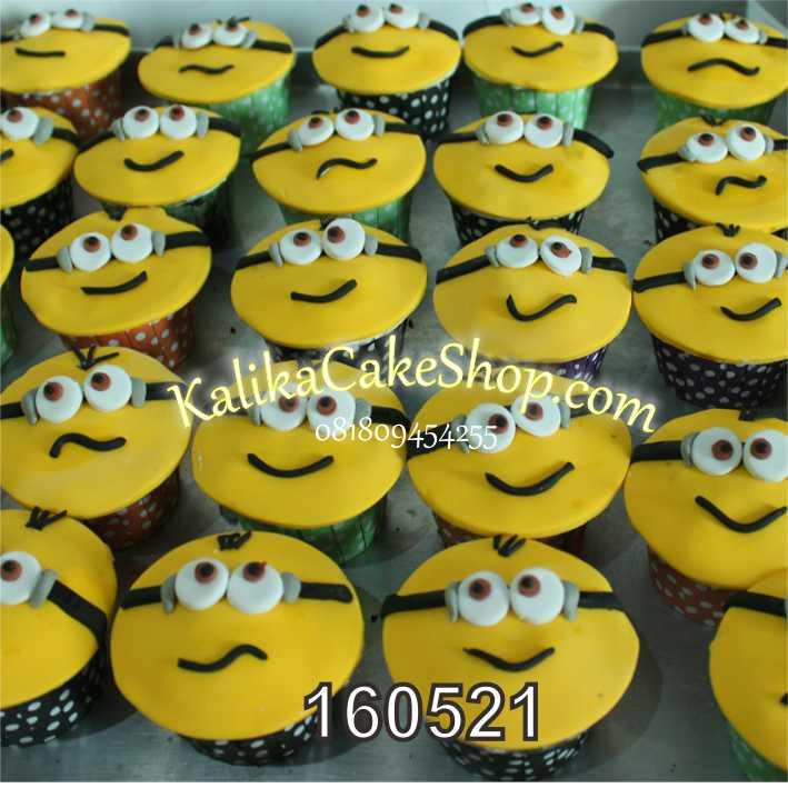 cup cake minion