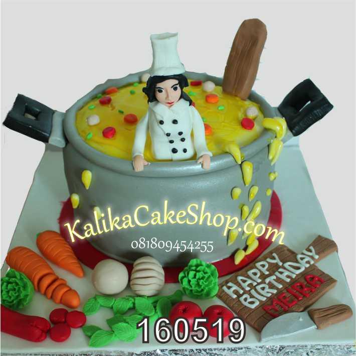 kue ulang tahun Cheff Meira