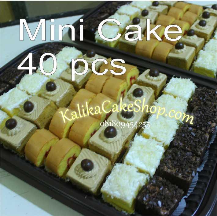 mini cake 40 pcs