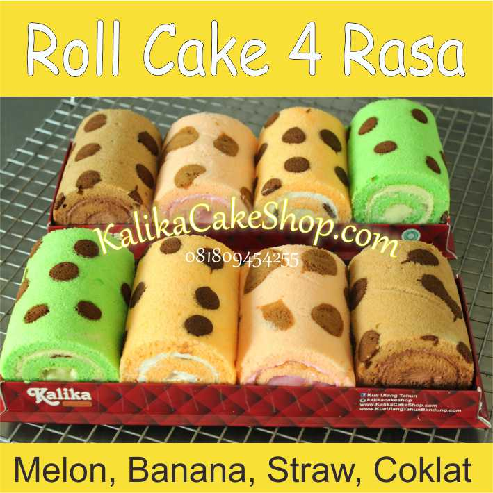 roll cake 4 rasa
