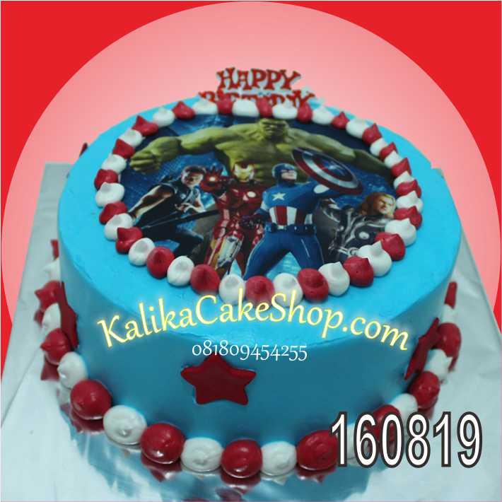 cake-edible-kapten-america