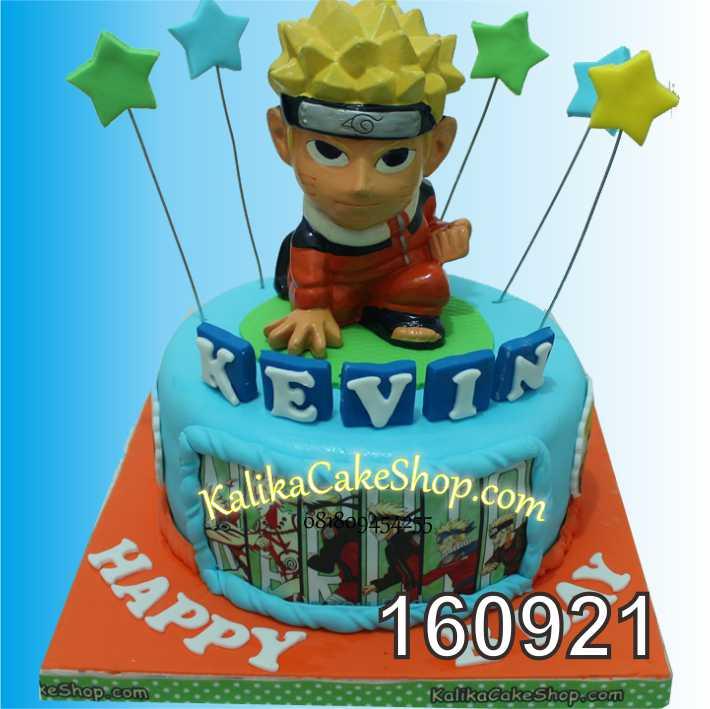 Cake Ulang tahun Naruto kevin