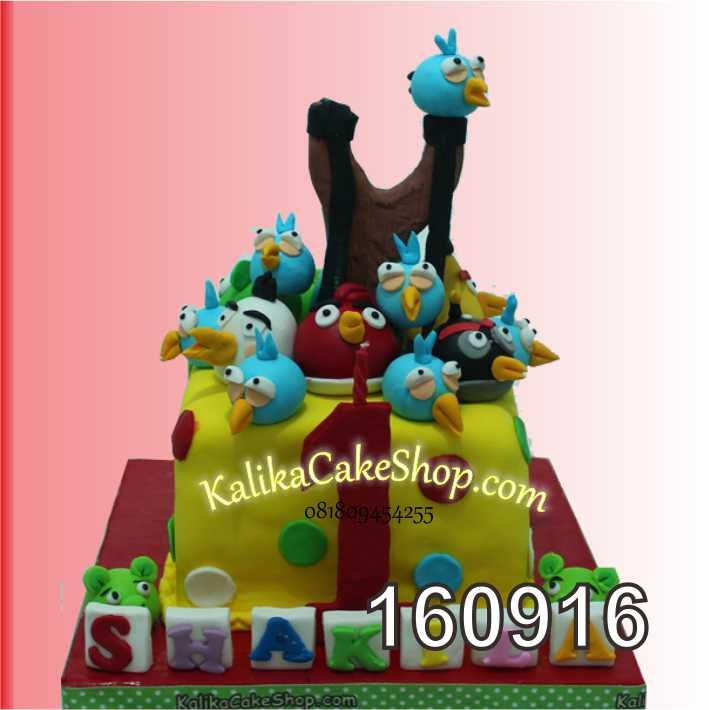 cake Ulang Tahun angry Bird Shakila